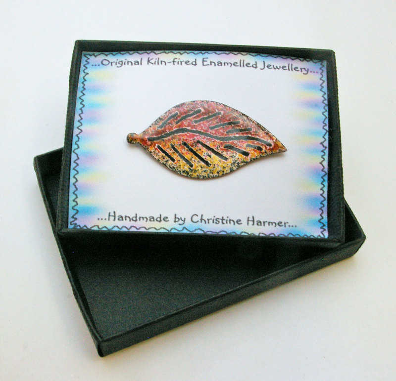 Autumn Leaf Brooch (Boxed)