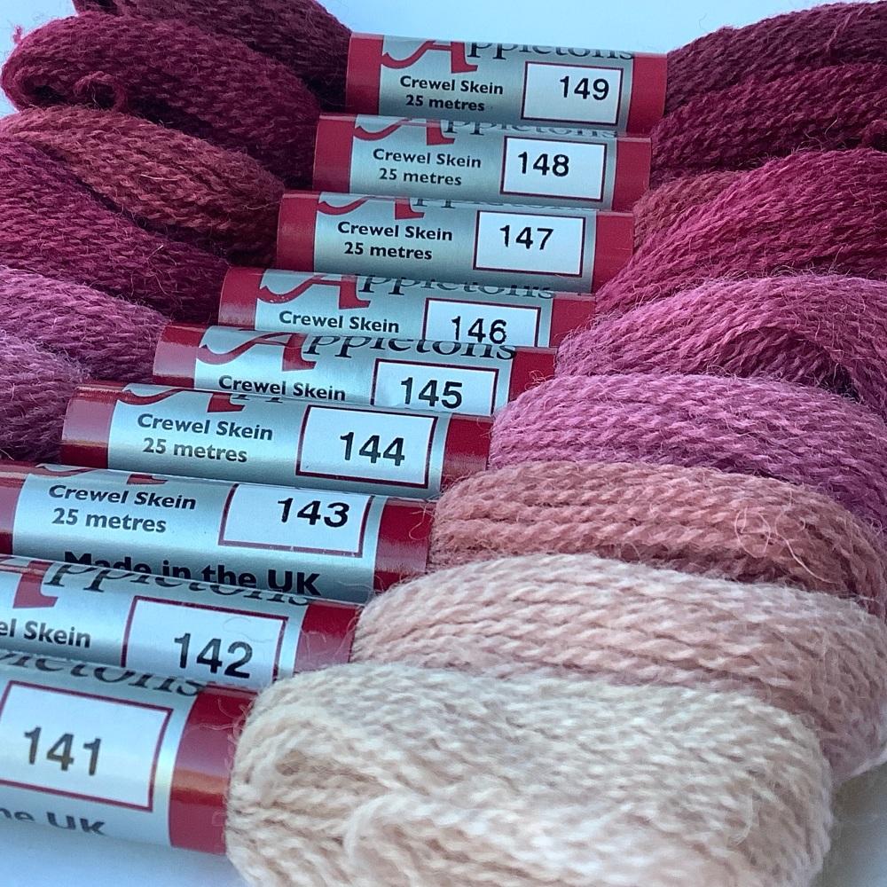 140 range (Dull Rose Pink)
