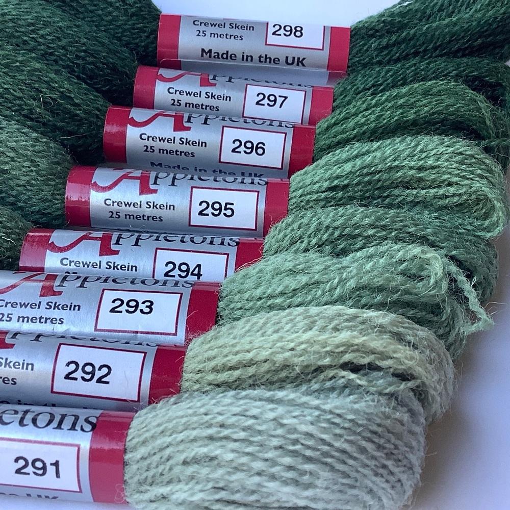 290 range (Jacobean Green)