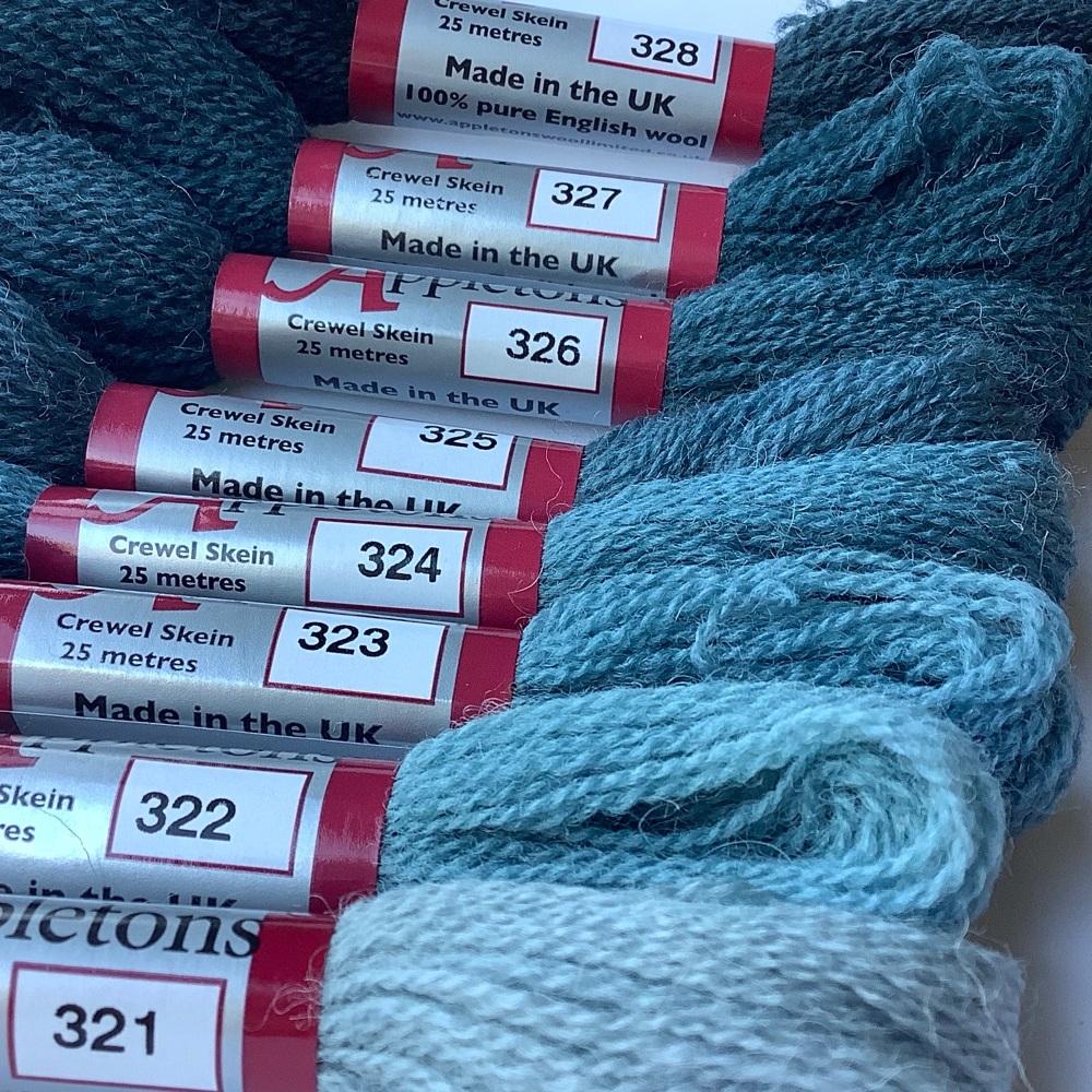 320 range (Dull Marine Blue)
