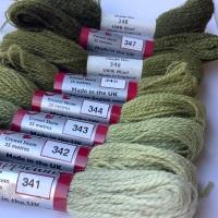 340 range (Mid Olive)