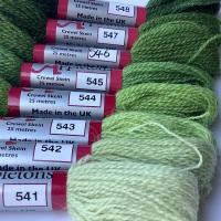 540 range (Early English Green)