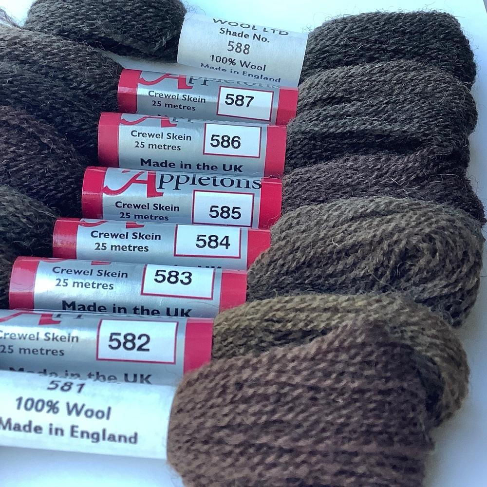 580 range (Brown Groundings)