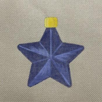 Star bauble purple