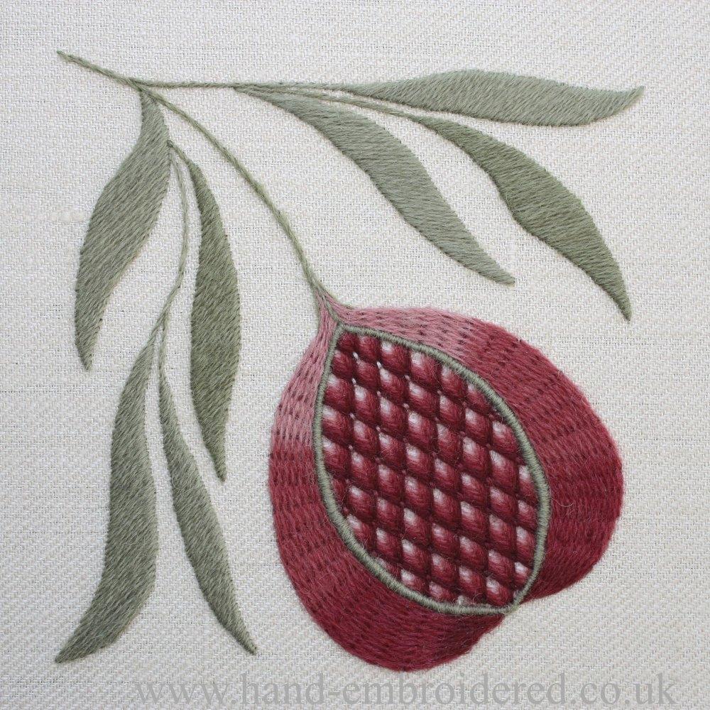 Crewelwork Pomegranate Kit
