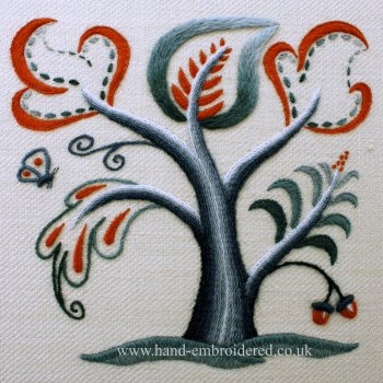 Crewelwork Tree of Life Kit