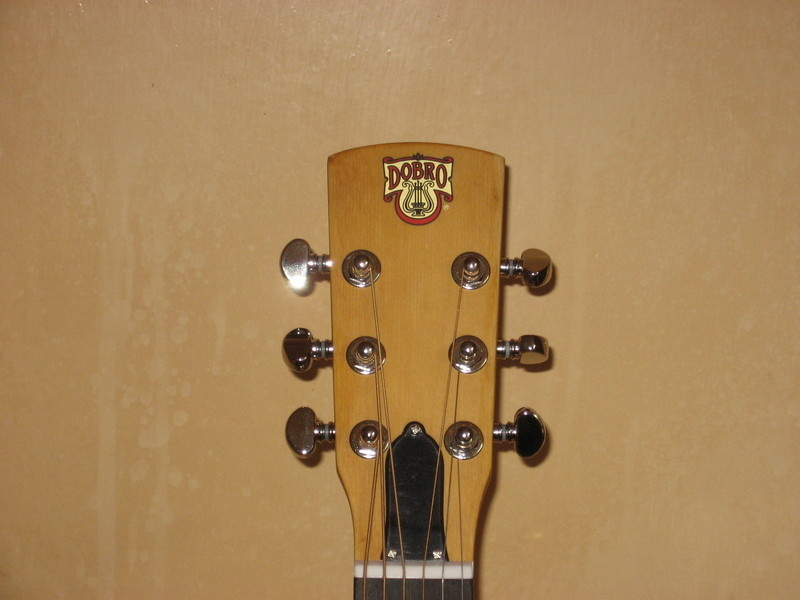dobro hound head stock