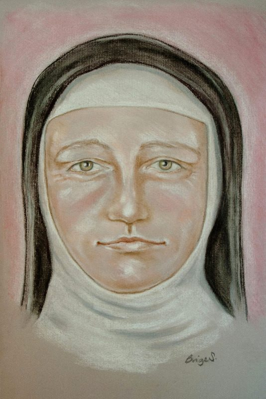 Spirit guide Sister Mary (c) Brige Steedman