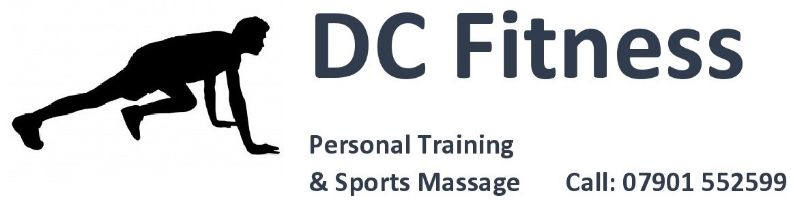 DC Fitness Personal Training, site logo.