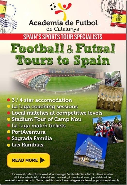 Academia de Futbol de Catalunya ad