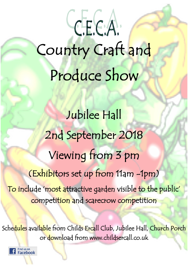 Country Craft andProduce 2018poster
