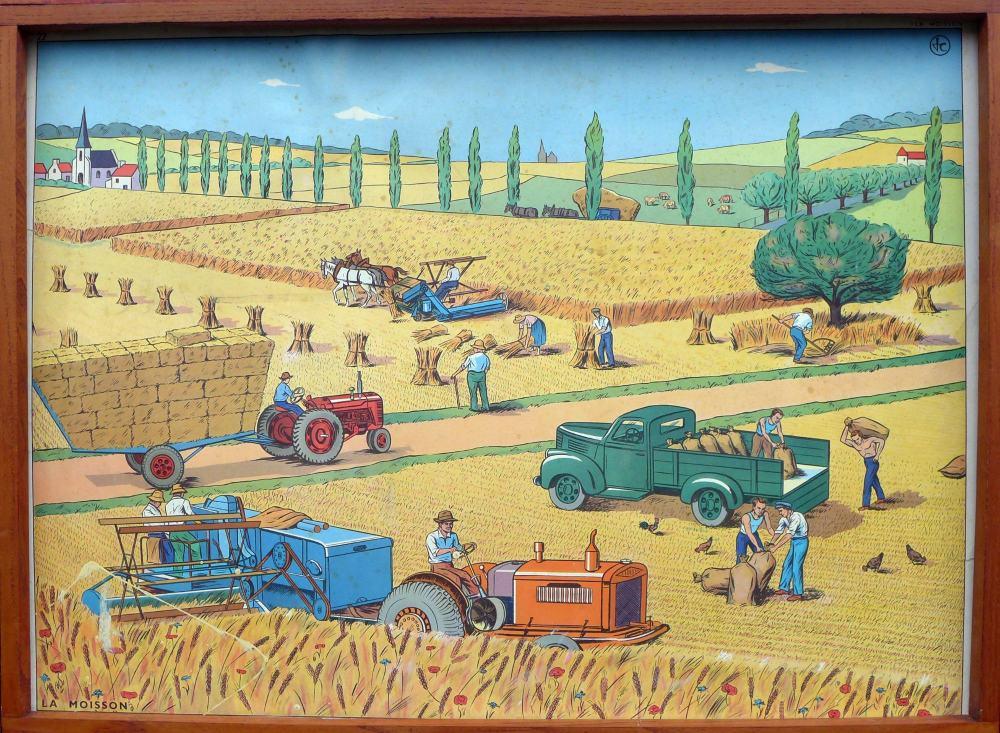 vintage-french-poster---harvest-1