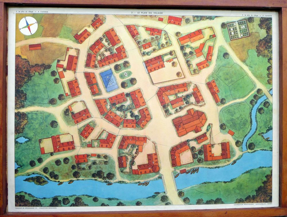vintage-french-poster---town-plan-1