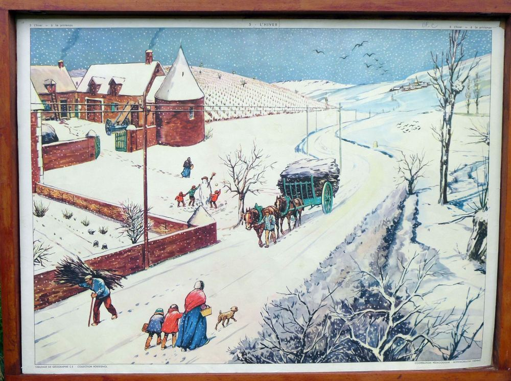 vintage-french-poster---winter-street