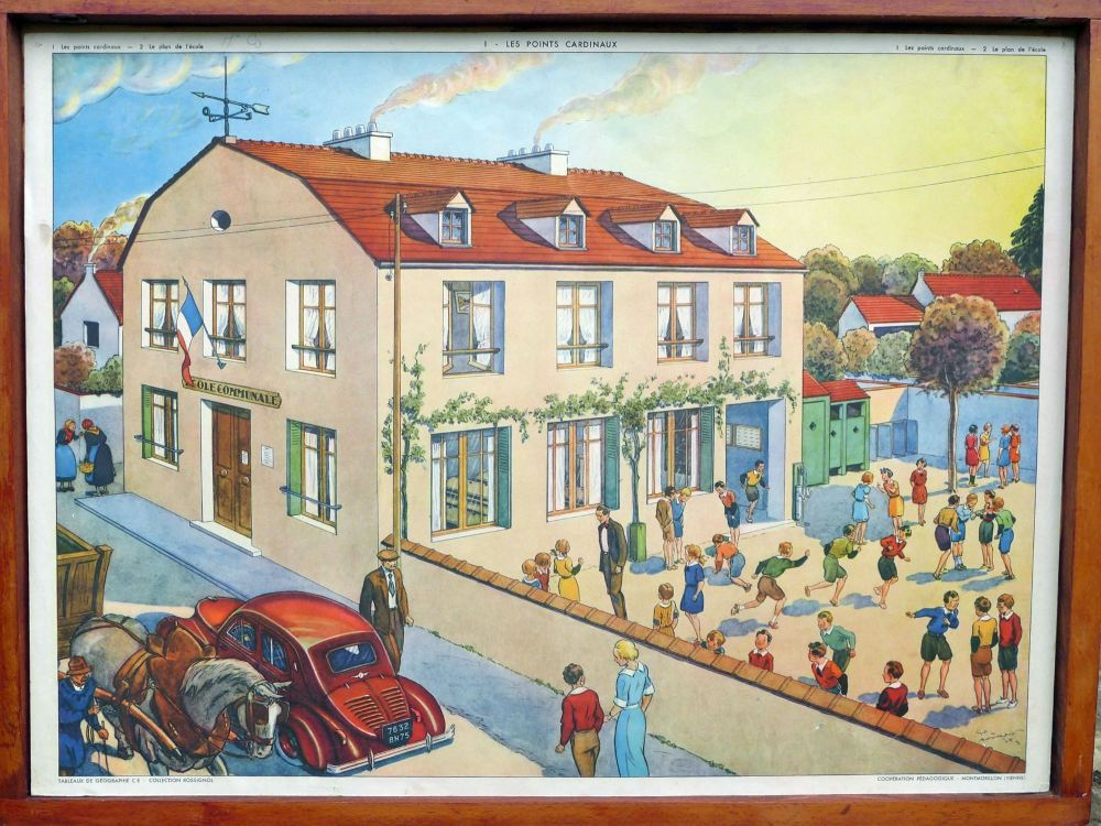 vintage-french-poster---school-1