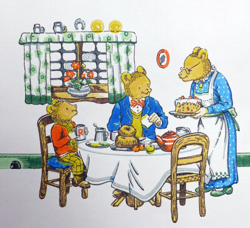 Vintage Rupert the Bear Wallpaper