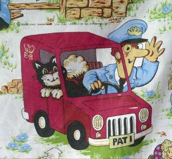 Postman Pat Cotton  - 117cm x 100cm
