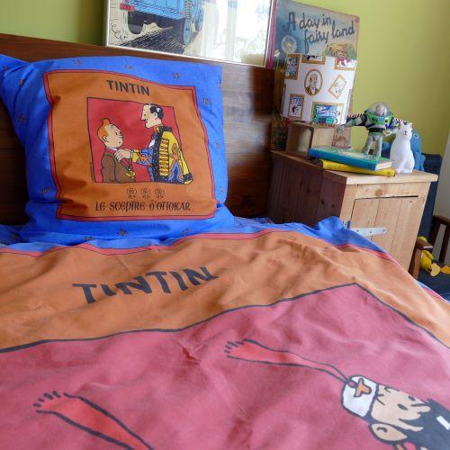 Vintage Tintin & Snowy Duvet Cover - King Ottokar's Sceptre