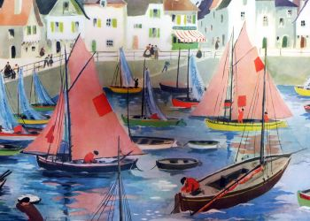Helene-Poirie-poster--the-port-3