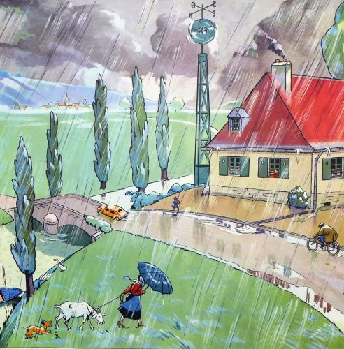 French Classroom Poster - Rain/Frost