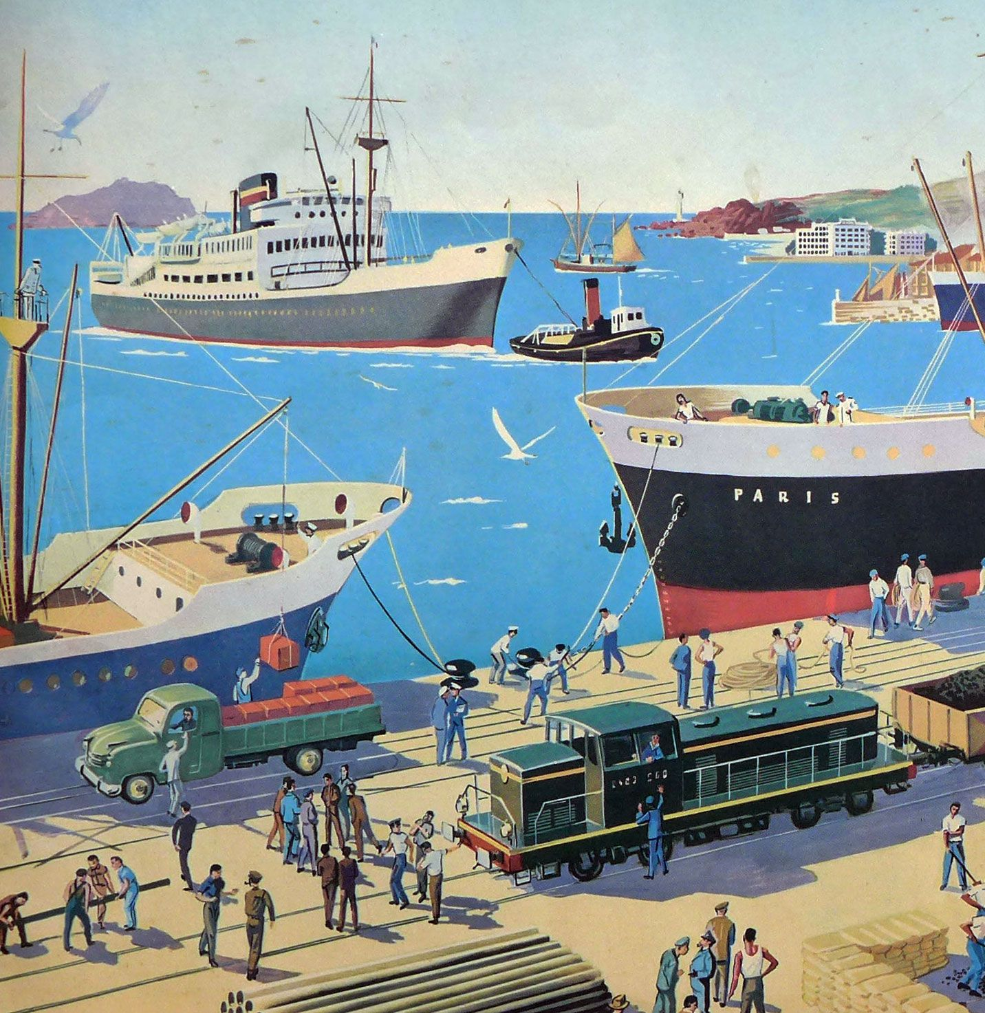 French Classroom Poster - Stadium/Port