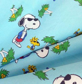 Vintage Snoopy Cotton - 124cm wide