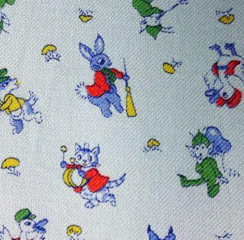 Vintage 1950's Nursery Fabric