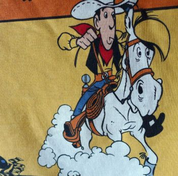 Lucky Luke Fabric Panels - 115cm x 36cm