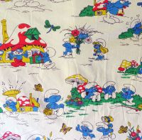 Vintage Smurf Cotton - 85cm wide