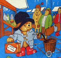 Paddington Bear - Paddington in London - Blue