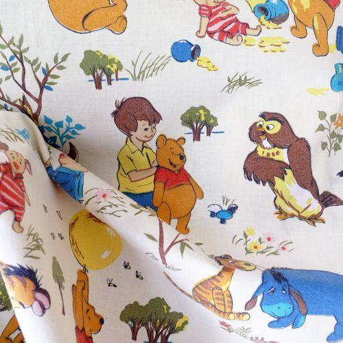 Vintage Winnie the Pooh Cotton FQ