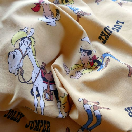 Lucky Luke Picture Cotton - 125cm wide