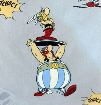 Asterix & Obelix Fabric -  48cm x 140cm wide