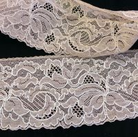 Vintage Leavers Lace Trim - BL8