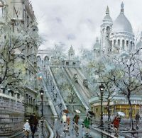 1960's Paris Print by Maurice Legendre