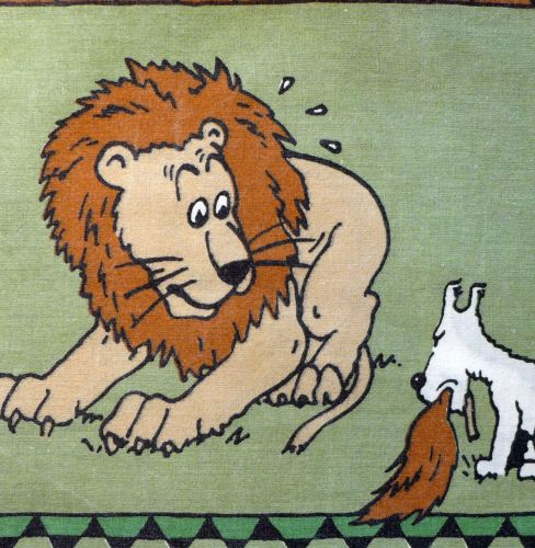 Tintin in Africa - Snowy and the Lion