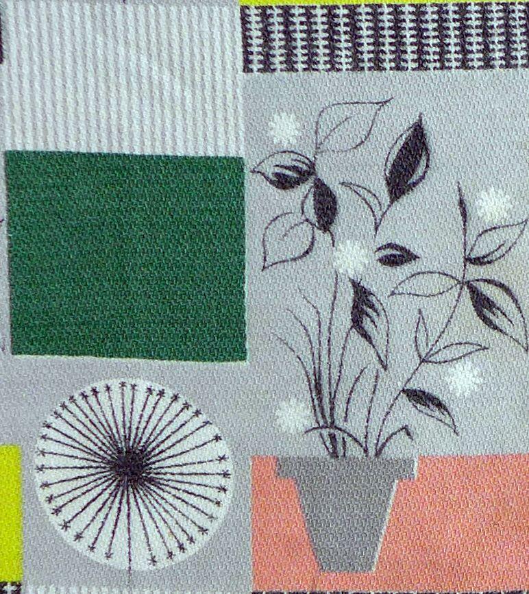 Tom Mellor Flower Pot Fabric