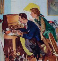 1950's Vintage Home Print - Walls Ice Cream Advert