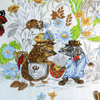 Shirefolk Linen by Burgess Ledward 120cm (w)