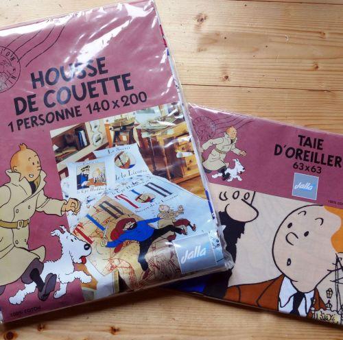 Vintage Tintin Duvet Cover - Secret of the Unicorn