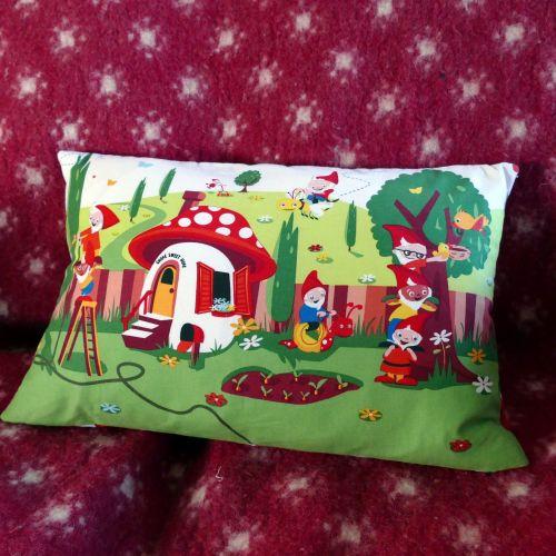Gnomes Cushion