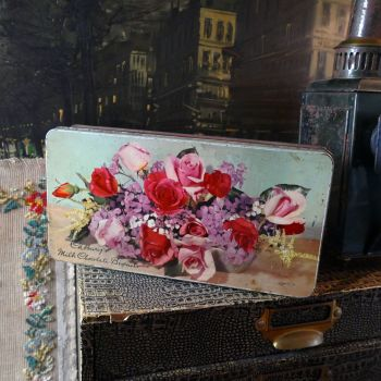 Vintage Cadbury's Floral Tin