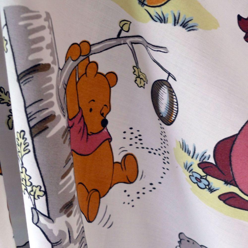 Vintage Winnie the Pooh Fabric - 120cm x 68cm