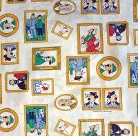 Tintin Portrait Fabric - 50cm x 60cm