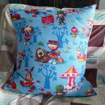 1960's Magic Roundabout Cushion