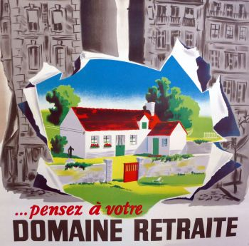 1960's French Advertising Poster