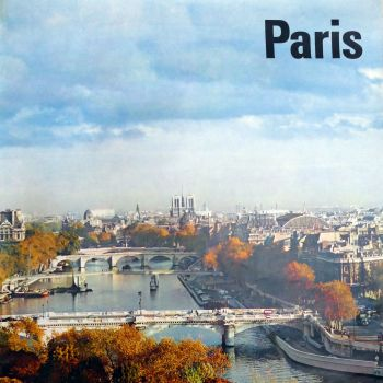 1960's Paris  - Travel Poster - Seine