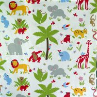 Animal Krackers Jungle Cotton - 105cm x 110cm