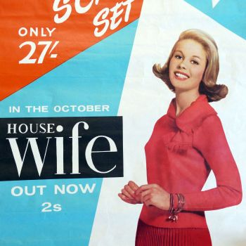 1960's Housewife Magazine Poster