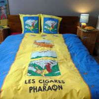 Vintage Tintin DOUBLE Duvet Cover - Cigars of the Pharaoh